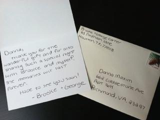wedding thank you notes