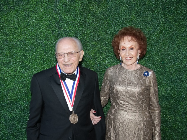 Texas Medal of Arts Awards 2015 Emilio Nicolas Sr. Irma Nicolas