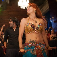 Dancer at Bollywood Ball