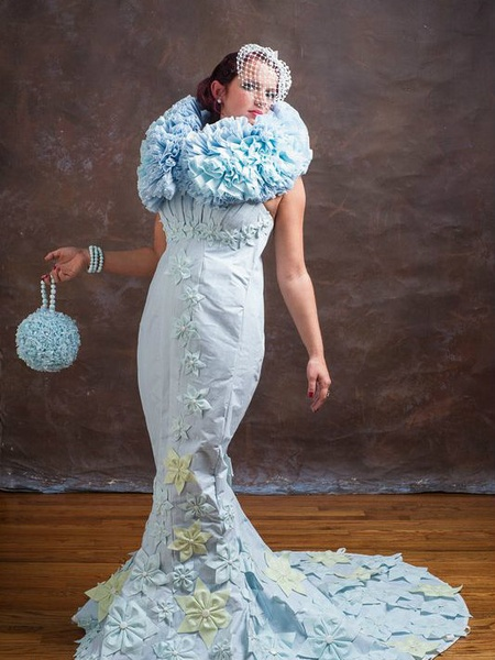 Dallas Mom Creates Award Winning Wedding Gown From Unexpected Material Culturemap