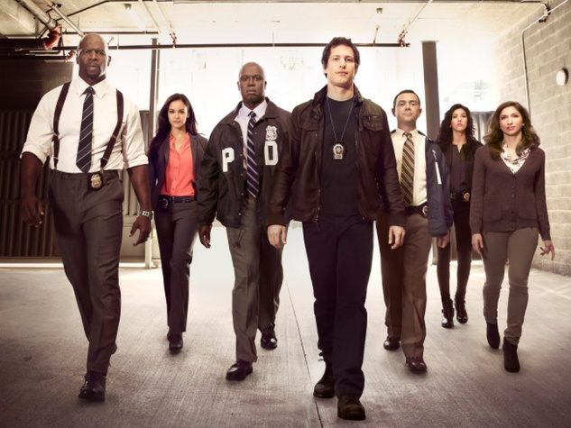 Brooklyn Nine-Nine cast Fox sitcom