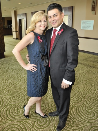 005, World AIDS Day luncheon, December 2012, Kim Padgett, Edward Sanchez