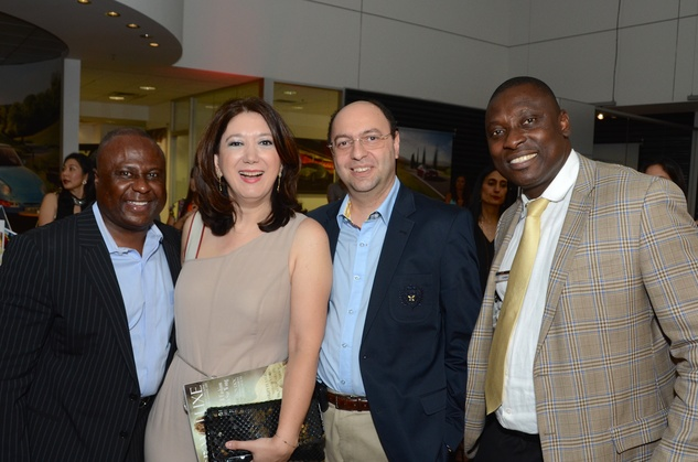 Houston, CKW Luxe Magazine Launch, May 2015, Greg Jones, Gurur Biliciller, Ali Denktas, Chidi Amida