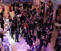 Blanton Art Museum Off The Wall Gala 2015 Crowd
