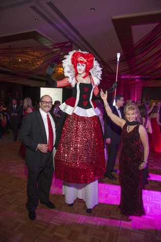 21 Alexander Rogers, Anna Lebedinsky with J&D Entertainment and Linda Rogers at Heart Ball February 2015