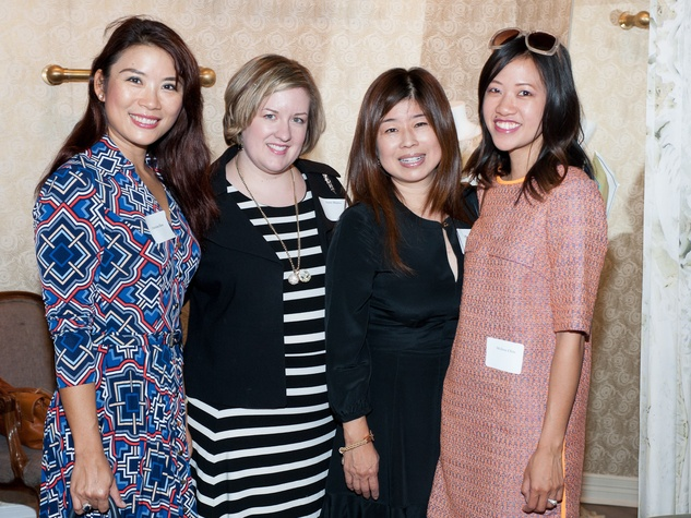 Houston Covenant House Spring Fling May 2013 Christina Zhou, Annie Hames, Rose Chen and Melissa Chou