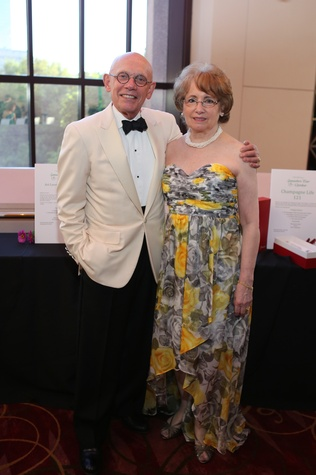 Jim and Beverly Postl at the Houston SPA Society for the Performing Arts Gala March 2015