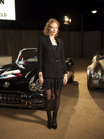 Jessica Jaffe at Chanel Metiers d'Art in Dallas