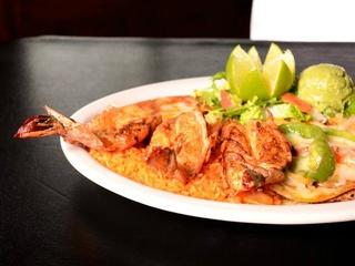 Tex-Mex dish at Campuzano Mexican Food