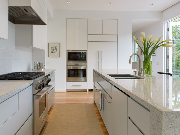 AIA Houston design awards July 2013 Murphy Mear Robinhood Residence kitchen