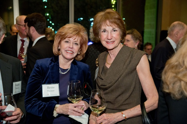 News, Shelby, UTHealth at Tony's, Bette Thomas, Laura McWilliams, Jan. 2015