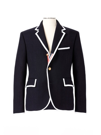 Thom Browne Neiman Marcus Target holiday collection, November 2012, jacket