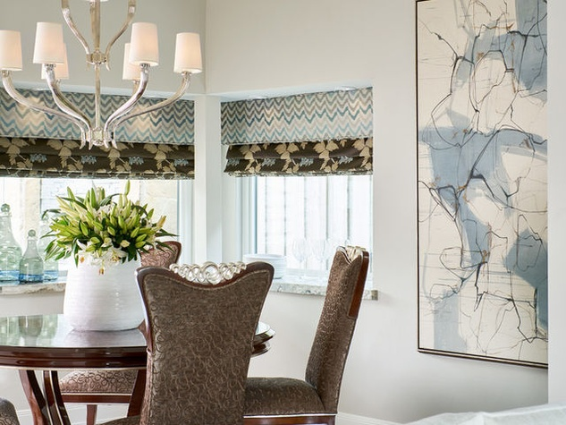 Houzz luxury estate remodel Dallas dining room