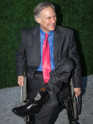 Texas Medal of Arts Awards 2015 Governor Greg Abbott Seal of Texas Boots