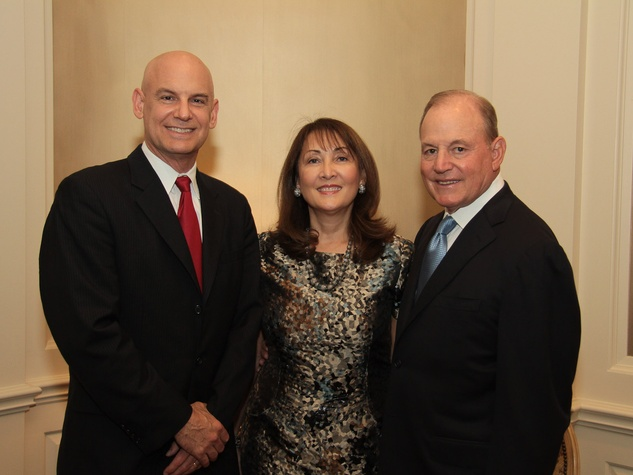 Baylor Friends dinner, October 2012, Dr. Christie Ballantyne, Penny Loyd, Paul Loyd