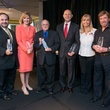 Houston, Crime Stoppers Awards luncheon, May 2015, Lee Vela, Devon Anderson, Eddee Hestand, George Blamire, Gena Norris, Chuck Norris.