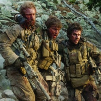 Ben Foster, Emile Hirsch and Mark Wahlberg in Lone Survivor