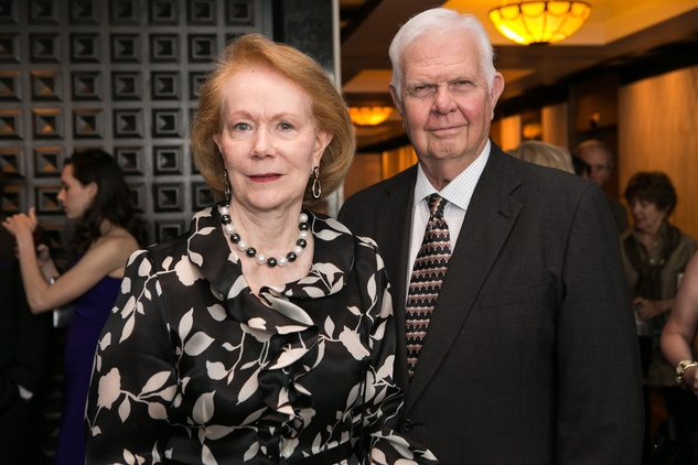 12 Shirley and Don Rose at the Opera in the Heights Gala June 2014.
