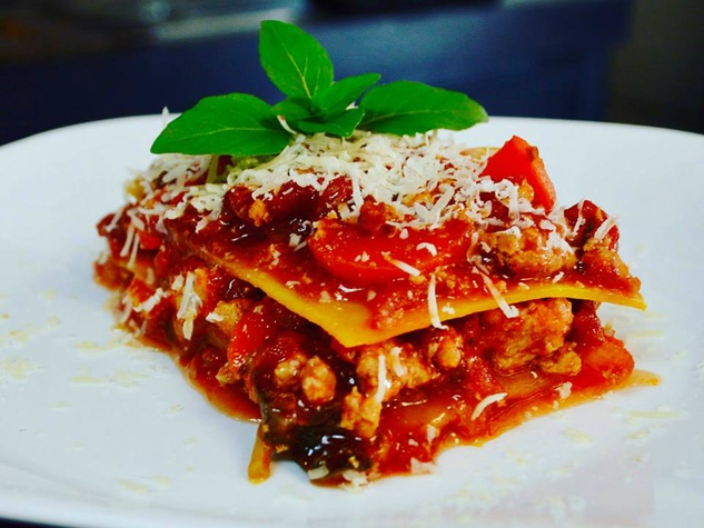 Lasagna from RedBird Farmacy