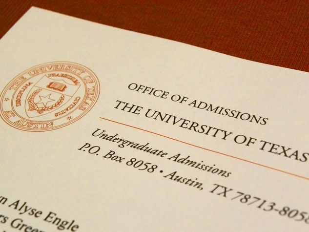 admissions essay for university of texas Students applying to texas southern university who have completed all high   do not qualify texas residents only) and have not attended a college/university .