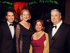 001, Houston Ballet Ball, February 2013, Steve Mach, Joella Mach, Carmen Mach, Butch Mach