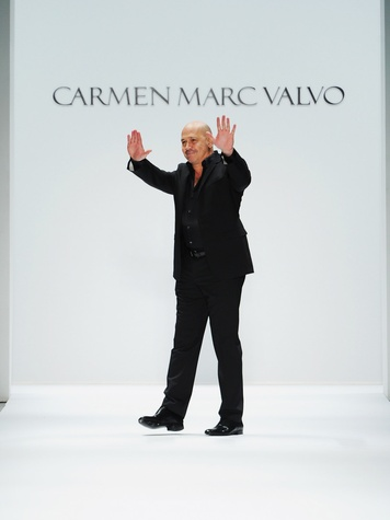 Fashion Week fall 2013, designer Carmen Marc Valvo