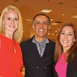 4 Christine and Matt Tabrizi, from left, with Brooke Candelaria at Dress for Dinner March 2014