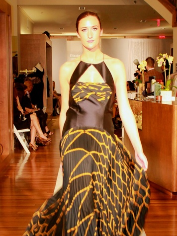 28 model on runway fashion show at the Recipe for Success' Dress for Dinner
