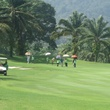 Jane Howze Phuket Thailand December 2013 With all the caddies, it looked like an army approaching the green