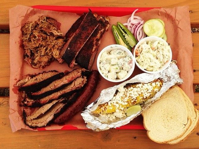 Kerlin BBQ Austin barbecue food truck meat sides