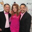 Shelby Kibodeaux, from left, Cindi Rose and Bruce Padilla at the Holly Rose Ribbon Foundation Day dinner September 2014
