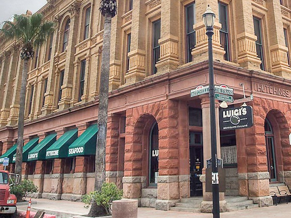 Luigi's Galveston, Hutchings Building