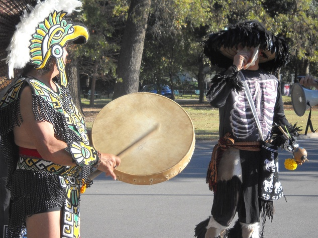 News_Rare Birds_Here Come the Drums_Aztec drum