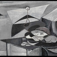 Picasso - Woman Asleep at a Table
