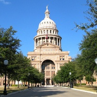 Texas state capitol building in Austin during day