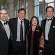 Scott Miller, from left, David Reed, Ann Reed and Troy Brooks at the Bering Omega's Sing for Hope Event October 2014
