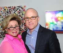 44 Bering Omega Art For Hope Art Auction at Wade Wilson Houston May 2013 Rosie Meyers, Tony Gonzales