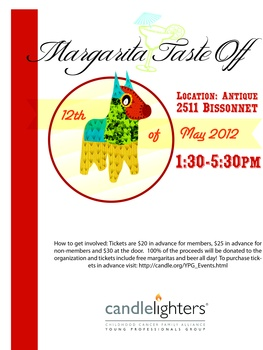 Fourth Annual Margarita Taste-Off