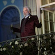 Donald Sutherland in The Hunger Games: Catching Fire