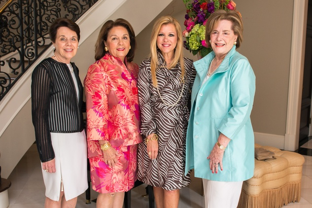 Houston, News, Shelby, Depelchin Children's Center Luncheon, May 2015, Ginni Mithoff, Sue Nan Cutsinger, Leigh Anne Touhy, Pat Powers