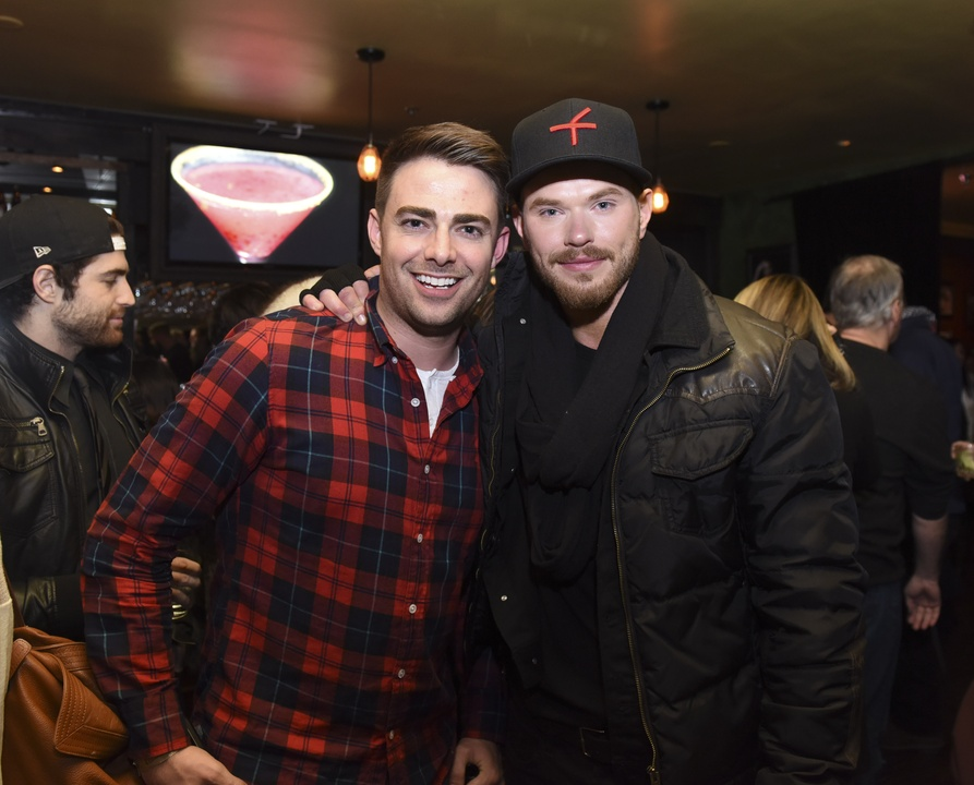 Jonathan Bennett and Kellan Lutz at Sundance Film Festival