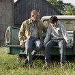 Joe Leydon Man of Steel Superman Dylan Sprayberry June 2013 and Kevin Costner
