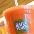 Daily Juice Austin orange drink SMALL