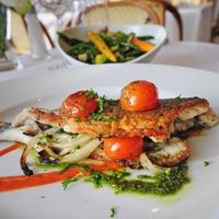 Fish dish at Le Bilboquet in Dallas