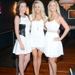 63 Jentry Kelley, from left, Andrea Simmons and Bri Potter at the White Hot Summer Night Party at Eddie V's August 2014