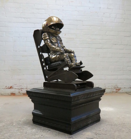 Texas Contemporary 2015 Brandon Vickerd, Monument to the First American In Space