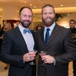 Tony Bradfield, left, and Kevin Black at the CAP kick-off at Saks September 2014