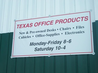 A 600 Square Foot Warehouse With New And Pre Owned Office Furniture,  Supplies, Cubicles, Bookcases, Electronics, And More.