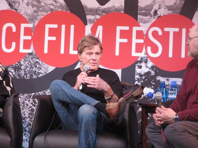 Robert Redford at Sundance Film Festival January 2014