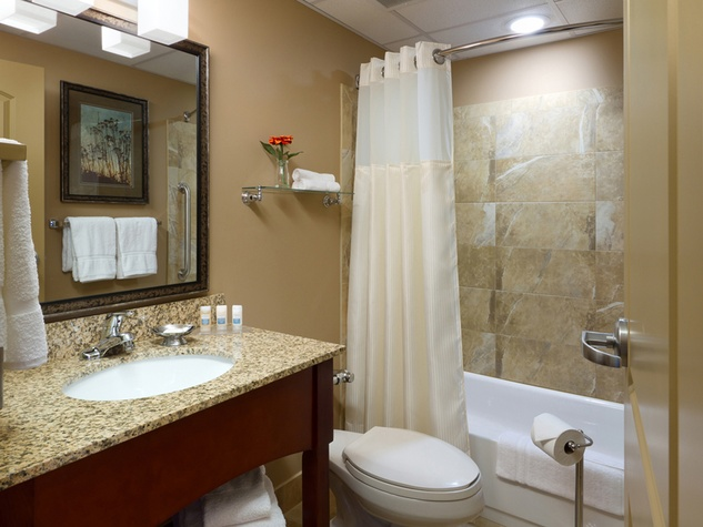It 39 s past time for hotels to cater to business women must for Bathroom ideas houston